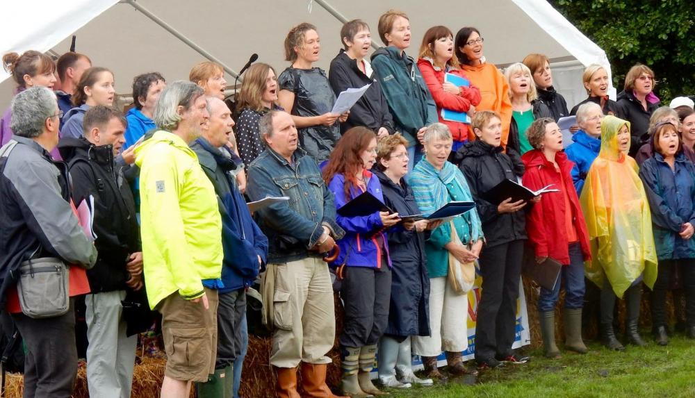 Oxford Canal Festival 2016 Jericho Singers