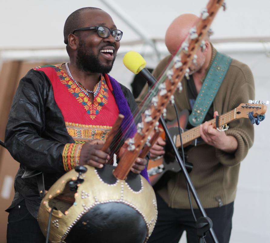 Oxford Canal Festival 2016 Seby Ntege Band
