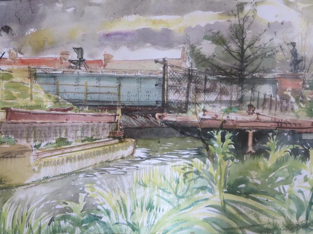 Colin Dick - Canal Scene