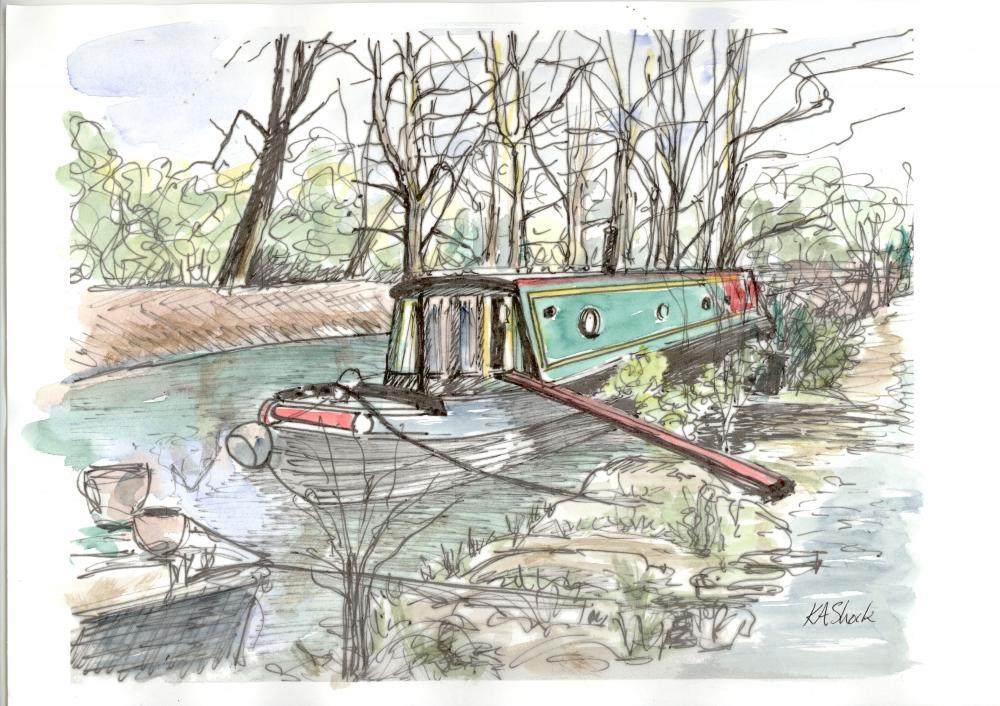 Katherine Shock - Canal Barge