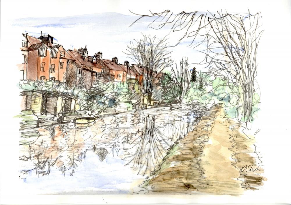 Katherine Shock - Canal Houses