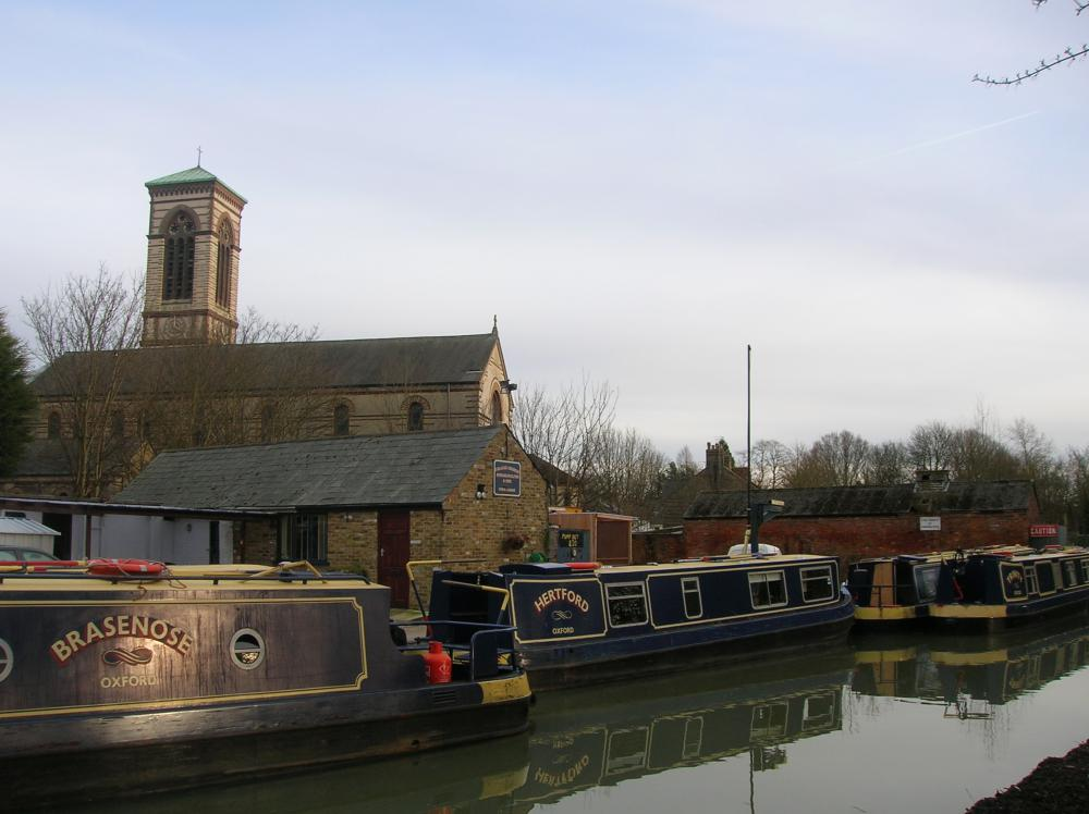 St Barnabas Church and Jericho Boatyard