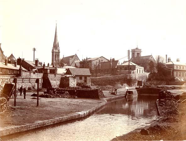Canal through Jericho