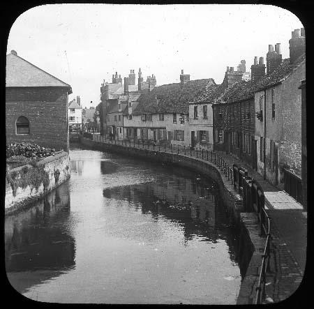 Canal through city centre