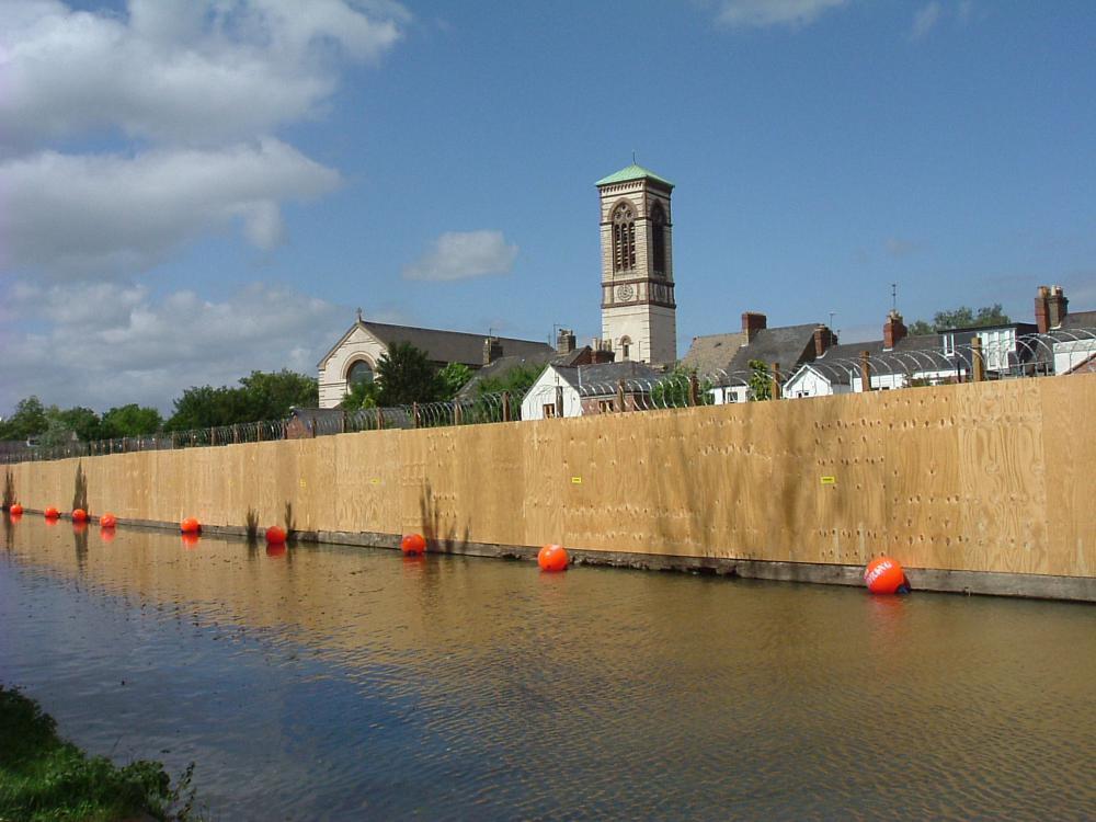 Jericho Boatyard Blockade