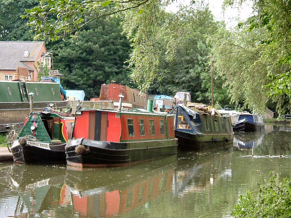 Oxford Canal Boats