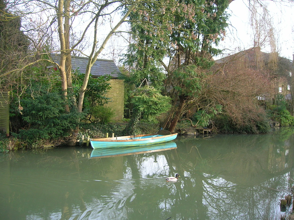 Oxford Canal Jolly Boat