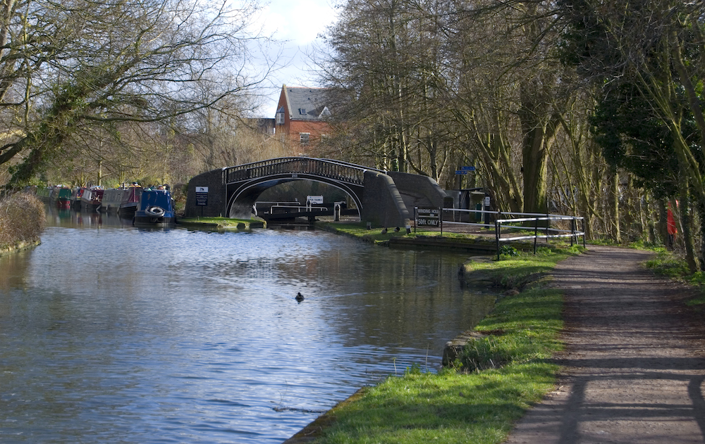 Oxford Lock and Winding Hole
